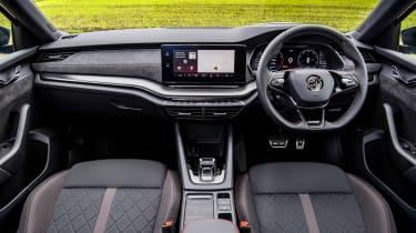 Skoda Octavia vRS iV review - dash
