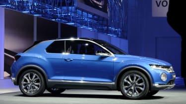 Volkswagen T-Roc concept shown at Geneva