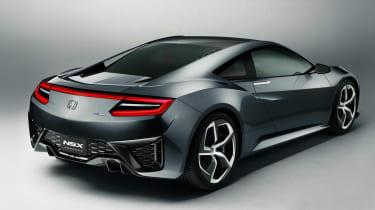 Honda NSX rear