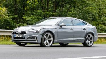 Spy - Audi RS5 Sportback side 3.4