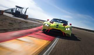 2018 Aston Martin Vantage GTE – front on track