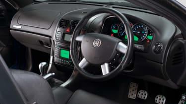 Vauxhall Monaro interior