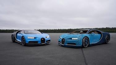 Bugatti Chiron lego - pairing