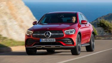 Mercedes-Benz GLC Coupe facelift