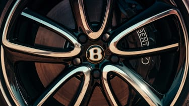 Bentley Continental GT V8 review - wheels