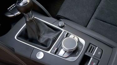 2013 Audi A3 Saloon manual gear stick