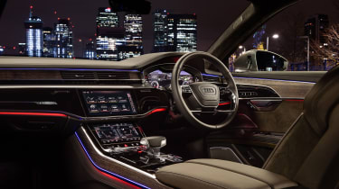 Audi A8 – interior