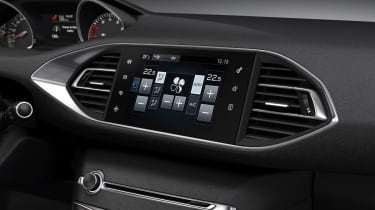 New 2013 Peugeot 308 media touchscreen aircon