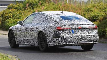 Audi A7 spied - rear 3.4 3