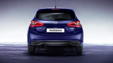 Nissan Pulsar rear