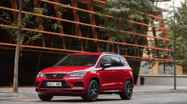 Ateca Cupra - red front