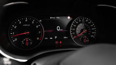 Kia Stinger GT-S MY21 press – dial pack
