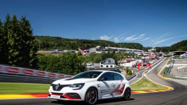 Renault Megane Trophy R - Spa lap record
