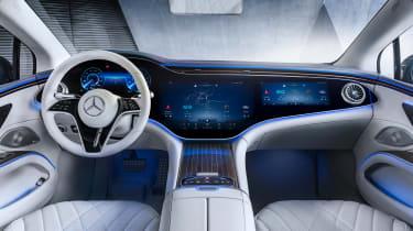 Mercedes-Benz EQS – cabin