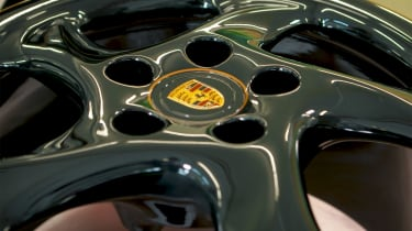 Porsche Classic project gold wheel