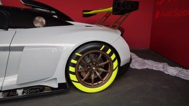 Audi R8 LMS GT2 rear wheel