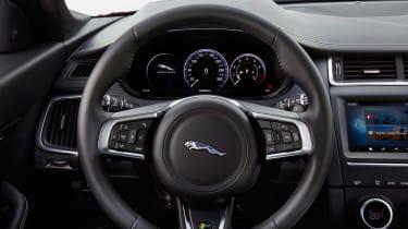 Jaguar E-Pace - steering wheel
