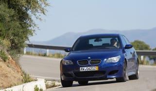 BMW M5 cornering