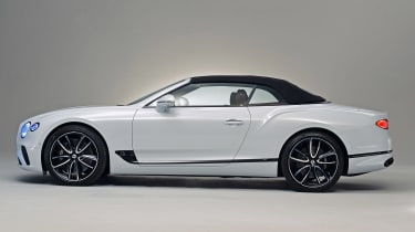 Bentley continental GT Convertible - side