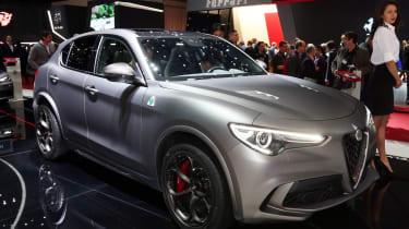 Alfa Romeo Stelvio Quadrifoglio NRING – front quarter