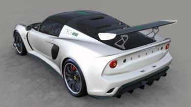 Lotus Exige 430 Cup Type 25 – rear quarter