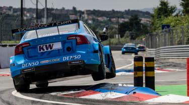 Polestar Cyan Racing WTCC car