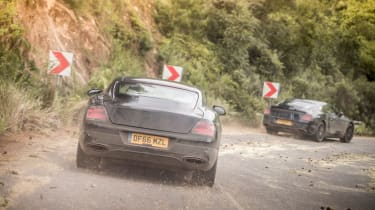 Bentley Continental GT - pre production SA rear 4