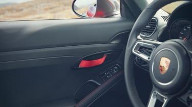 Porsche Cayman T door pull