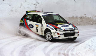 Ford Focus RS WRC world rally car