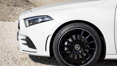Mercedes-Benz A-class front detail
