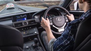 Lexus RC F - Interior