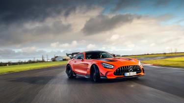 Mercedes-AMG GT Black Series - tracking