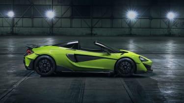 McLaren 600LT Spider side