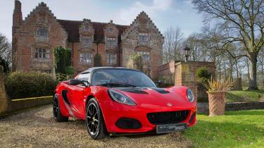 Lotus Elise Sprint front 2