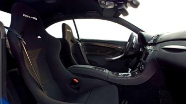 Mercedes-Benz CLK63 AMG Black Series - Interior