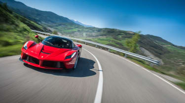 Ferrari LaFerrari on road review