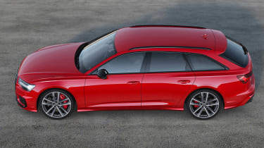 Audi S6 Avant - side