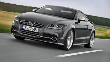 Audi TTS Competition grey front