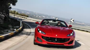 Ferrari Portofino - nose