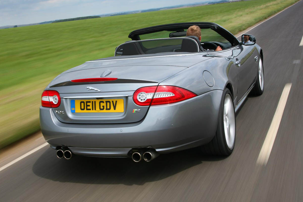 2013 Jaguar Xkr Convertible Review And Pictures Evo