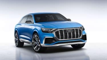 Audi Q8 concept front three-quarters