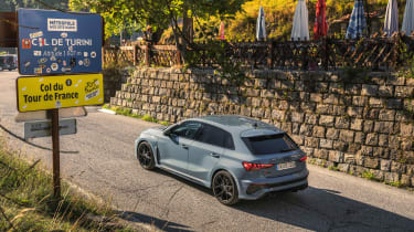 2022 Audi RS3 Sportback –rear quarter