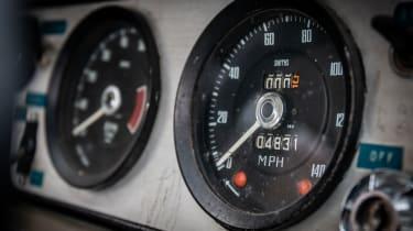 1966 Lotus Cortina Group 5 dash