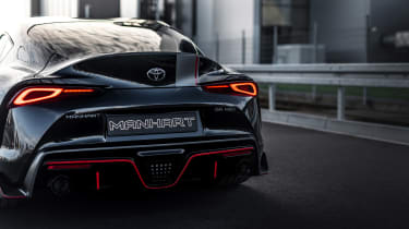Manhart Toyota Supra rear