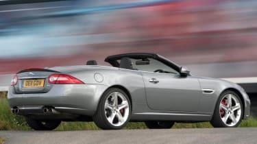 2013 Jaguar XKR Convertible rear