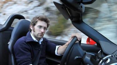 2012 Porsche Boxster S driving shot