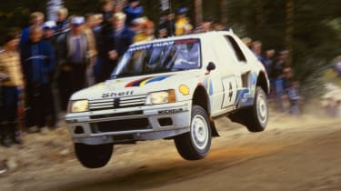 205 T16 rally car