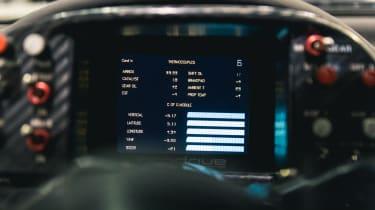 Subaru Impreza S6 WRC – dials