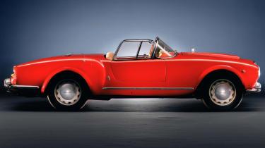 1950s - Lancia Aurelia Spider B24 - side