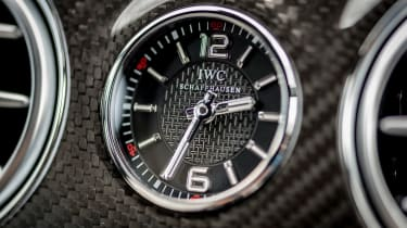 Mercedes S-class - clock